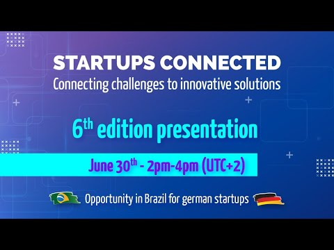 Startups Connected 6th edition presentation
